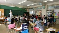 横浜市立中和田南小学校で「味覚」の授業