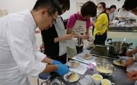あつぎ食支援ネットワーク主催セミナー【嚥下フレンチを取り入れた新しい嚥下食】実習講師