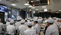 町田調理師専門学校 特別講義【フランス料理の多様性 嚥下フレンチ「スラージュ」を学ぶ】講師